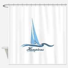 The Hamptons - Long Island. Shower Curtain