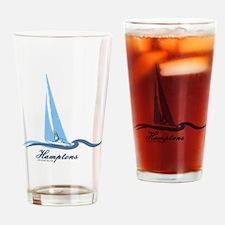 The Hamptons - Long Island. Drinking Glass
