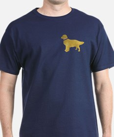 Preppy Golden Retriever T-Shirt