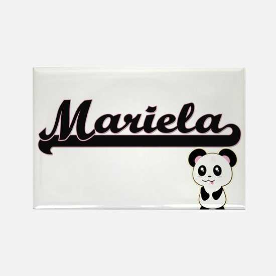 Mariela Classic Retro Name Design with Pan Magnets