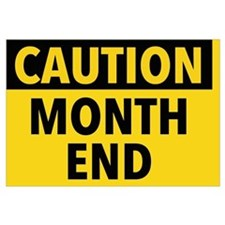 Funny Month by month Wall Art