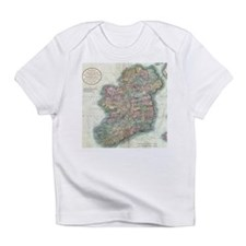 Vintage Map of Ireland (1799) Infant T-Shirt