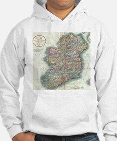 Vintage Map of Ireland (1799) Jumper Hoody