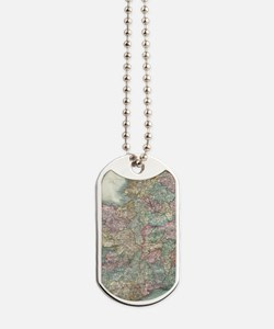 Vintage Map of Ireland (1799) Dog Tags