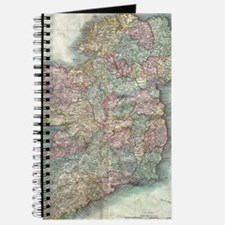 Vintage Map of Ireland (1799) Journal