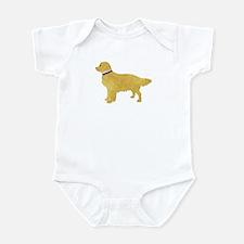 Preppy Golden Retriever Infant Bodysuit