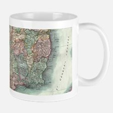 Vintage Map of Ireland (1799) Mugs