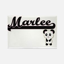 Marlee Classic Retro Name Design with Pand Magnets