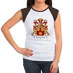 Descamps Family Crest  Women's Cap Sleeve T-Shirt