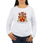 Descamps Family Crest  Women's Long Sleeve T-Shirt