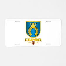 Espoo Aluminum License Plate
