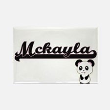 Mckayla Classic Retro Name Design with Pan Magnets