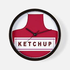 Ketchup Wall Clock