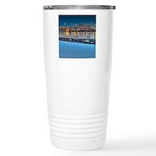 Decatur Bridge Scenic Twilight Travel Mug