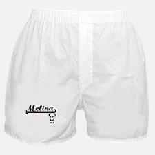 Melina Classic Retro Name Design with Boxer Shorts