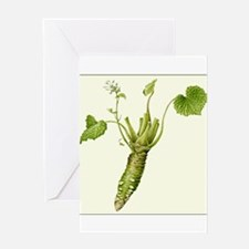 Wasabi Plant Greeting Cards