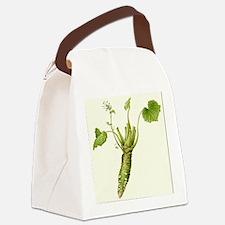 Wasabi Plant Canvas Lunch Bag