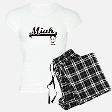 Miah Classic Retro Name Des Pajamas