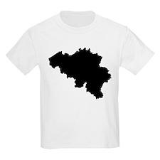 Black Belgium T-Shirt