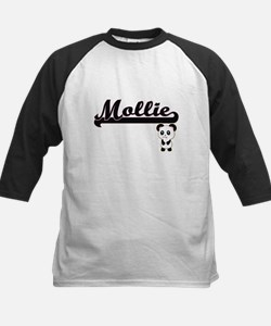 Mollie Classic Retro Name Design w Baseball Jersey