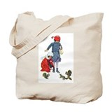 Squirrel tote bags Canvas Totes
