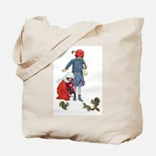 FEEDING THE SQUIRRELS Tote Bag