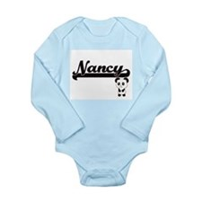 Nancy Classic Retro Name Design with Pan Body Suit