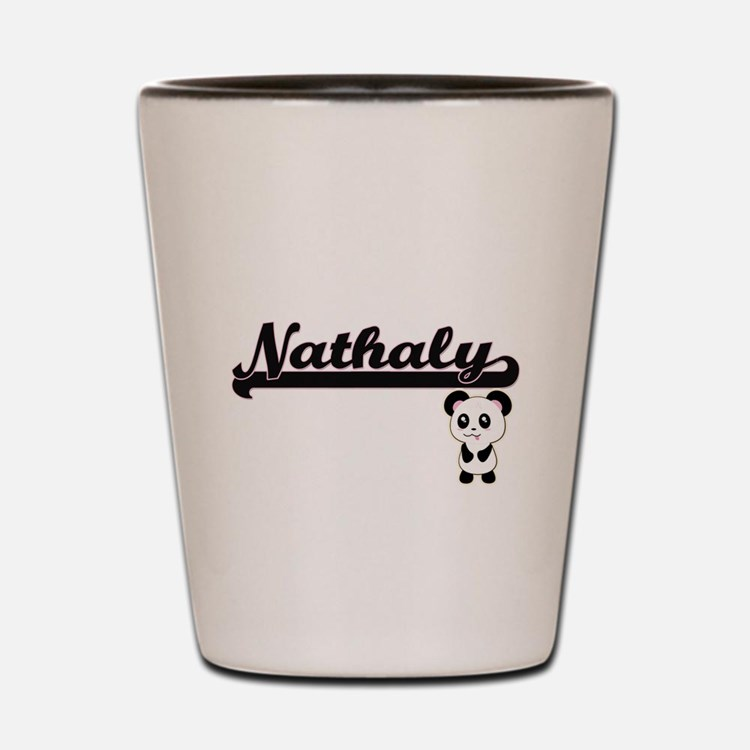 Nathaly Classic Retro Name Design with Shot Glass