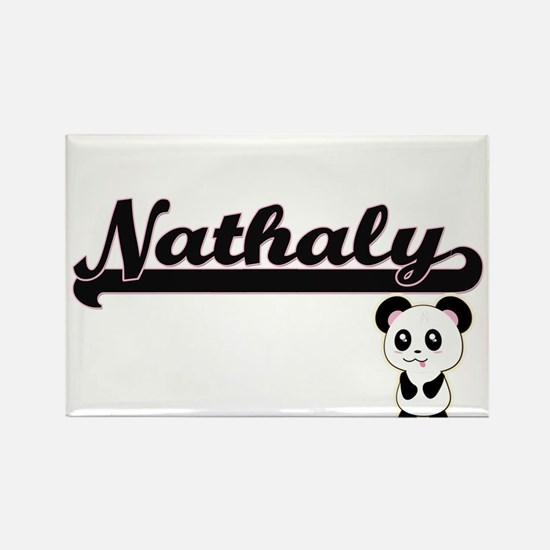 Nathaly Classic Retro Name Design with Pan Magnets