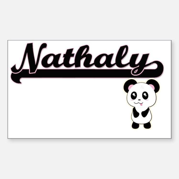 Nathaly Classic Retro Name De Decal