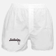 Nathaly Classic Retro Name Design wit Boxer Shorts