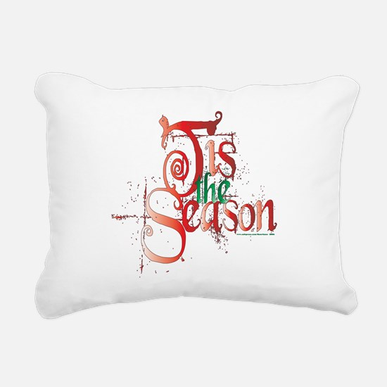 Tis the Season Rectangular Canvas Pillow