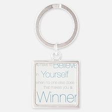 Believe in Winning Keychains