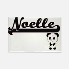 Noelle Classic Retro Name Design with Pand Magnets