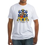 Delattre Family Crest Fitted T-Shirt