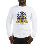 Delattre Family Crest Long Sleeve T-Shirt
