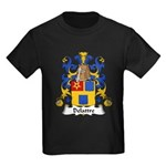 Delattre Family Crest Kids Dark T-Shirt