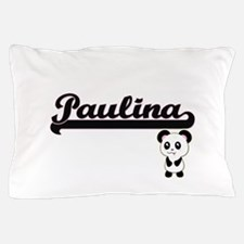 Paulina Classic Retro Name Design with Pillow Case