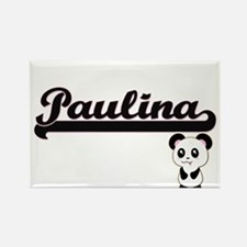 Paulina Classic Retro Name Design with Pan Magnets