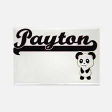 Payton Classic Retro Name Design with Pand Magnets