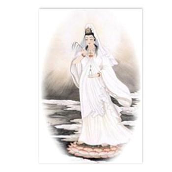 Kwan Yin Postcards (Package of 8)