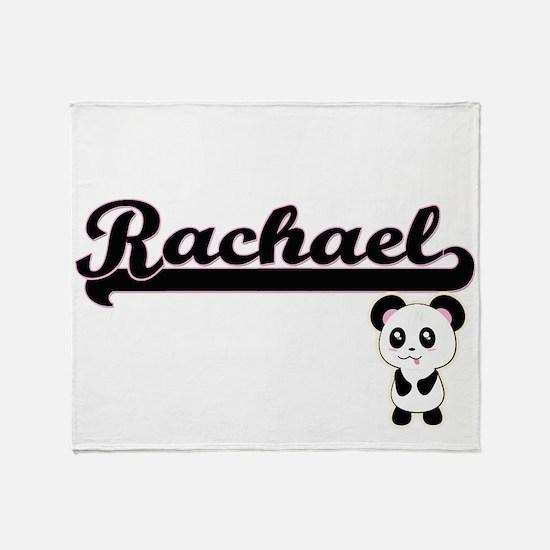 Rachael Classic Retro Name Design wi Throw Blanket