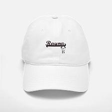 Rayna Classic Retro Name Design with Panda Baseball Baseball Cap