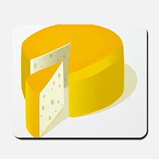 Cheese Wheel Mousepad