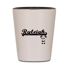 Ryleigh Classic Retro Name Design with Shot Glass