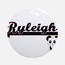 Ryleigh Classic Retro Name Design Ornament (Round)