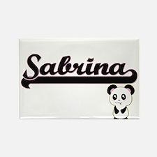 Sabrina Classic Retro Name Design with Pan Magnets