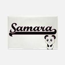 Samara Classic Retro Name Design with Pand Magnets