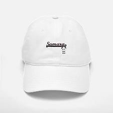 Samara Classic Retro Name Design with Panda Baseball Baseball Cap