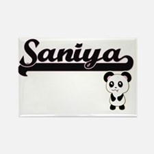 Saniya Classic Retro Name Design with Pand Magnets